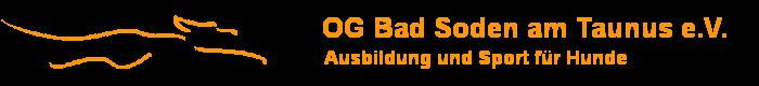 OG Bad Soden am Taunus e.V. . Mitglied im Verein für Deutsche Schäferhunde (SV)